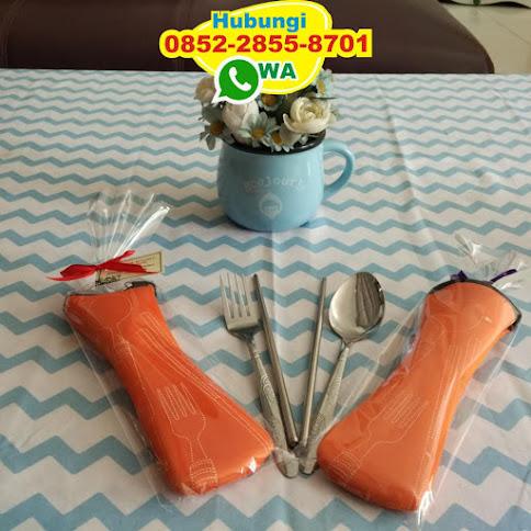 harga souvenir sendok garpu kayu 54946