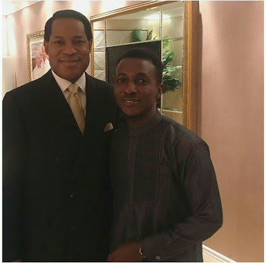 Cute Photo Of Frank Edwards & Pastor Chris Oyakhilome