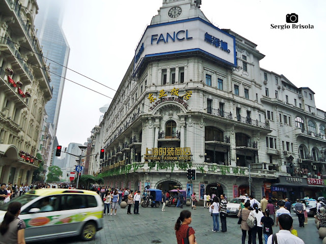 Shanghai Fashion Store and East Asia Hotel