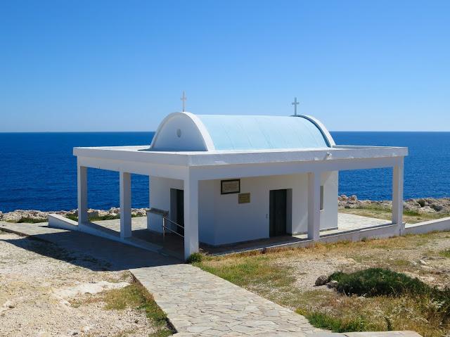 Agioi Anargyroi chapel - Cape Greco, Cyprus