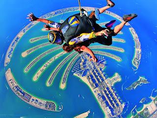 Skydive at Palm Jumeirah Island