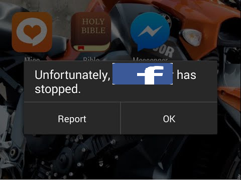 Fix Unfortunately Facebook Has Stopped On Android