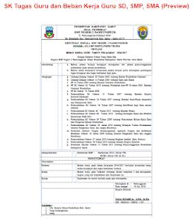 Bukti Fisik Akreditasi SMP/MTS Standar Proses