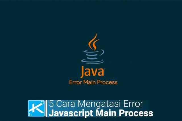 "Bagaimana cara mengatasi error ""Javascript Error Occurred In The Main Process Uncaught Exception Syntaxerror Unexpected Token"" ? Berikut caranya:"