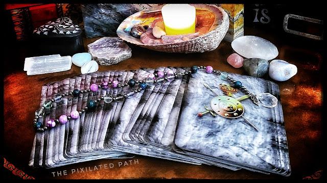 Tarot Reading using The Sacred Circle Tarot
