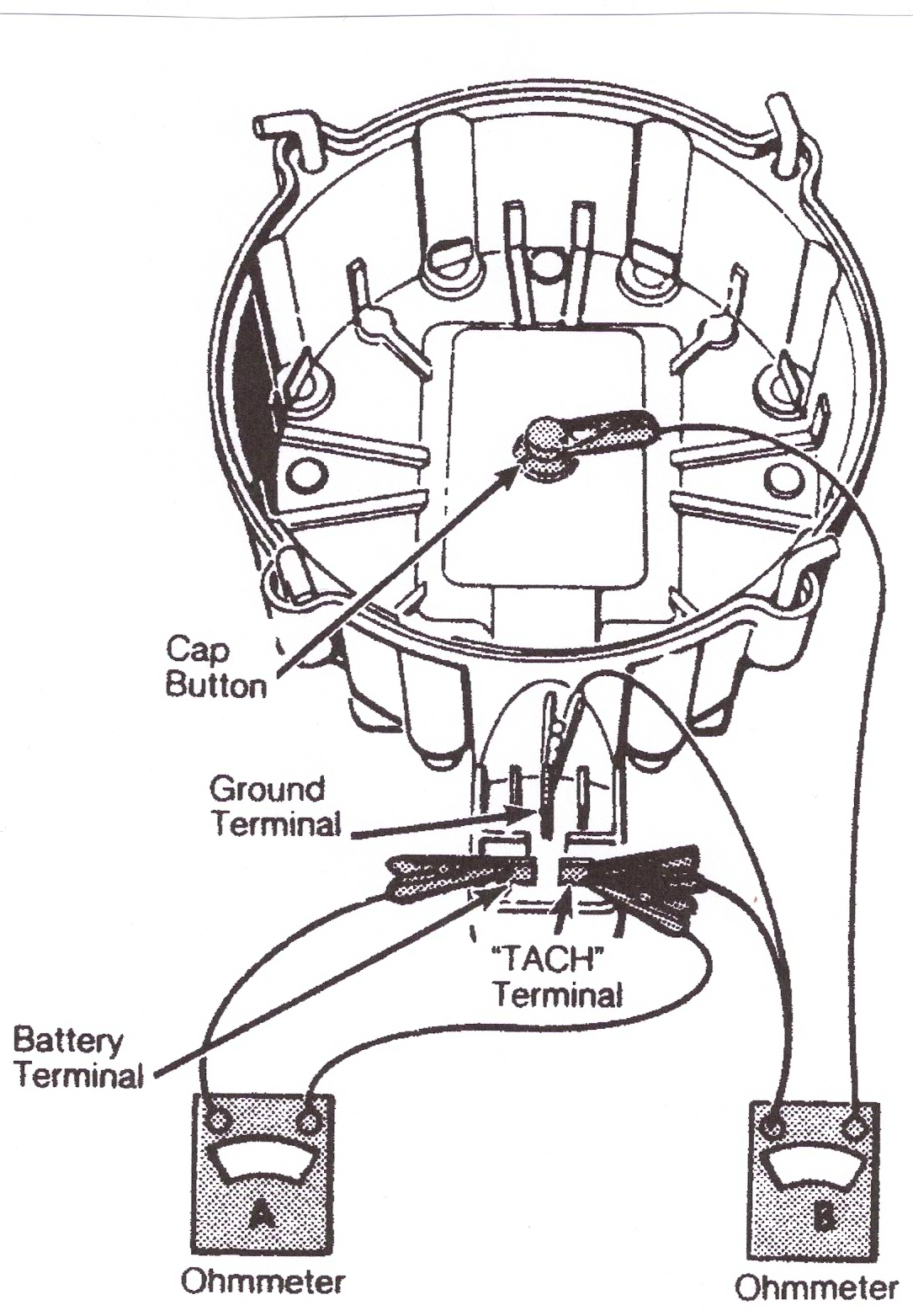 tach wire chevy hei distributor wiring diagrams