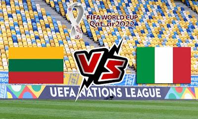 ايطاليا وليتوانيا بث مباشر