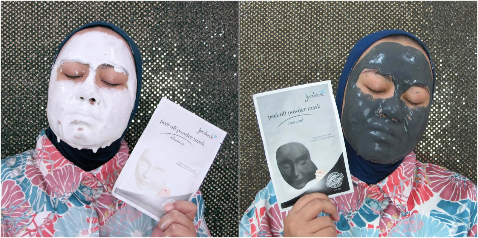 masker jordanie charcoal dan allantoin