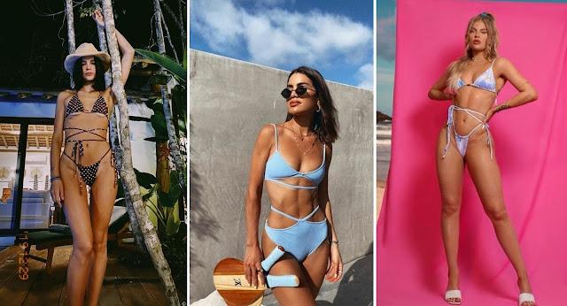 Foto reprodução: Bruna Marquezine | Camila Coelho | Luiza Sonza
