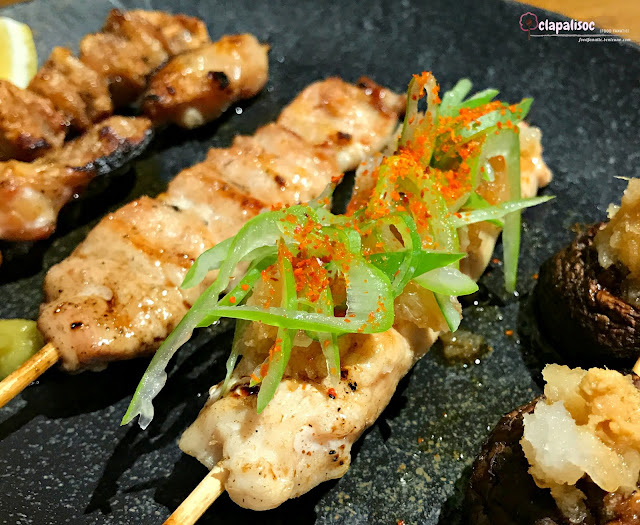 Yakitori Set from Tori Ichi BGC