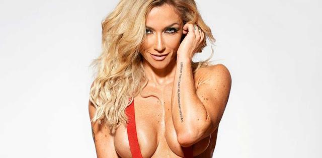 Fotos de Raquel Henriques nua pelada na Playboy Portugal