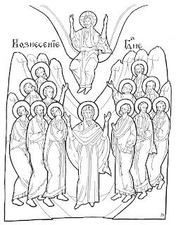 Fise De Colorat Cu Iisus Hristos Praznice Maica Domnului