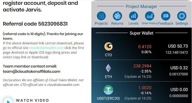 {filename}-Cloud Token Wallet Is A 4th Generation Decentralized Mobile Wallet Dapp