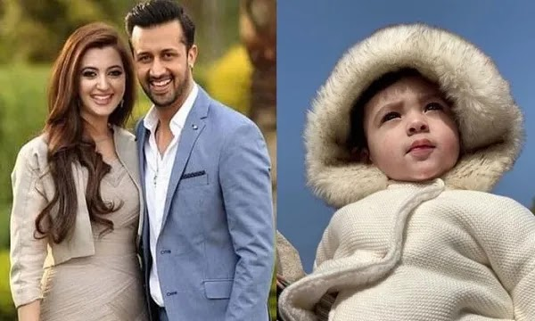 Atif Aslam's Son, First Picture