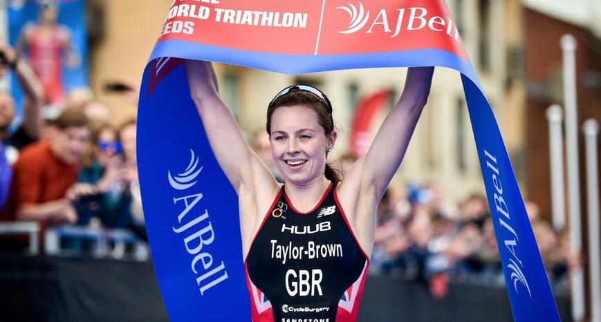 Georgia Taylor-Brown vencedora de la WTS LEEDS 2019