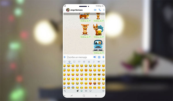 WhatsApp Estilo Iphone iOS