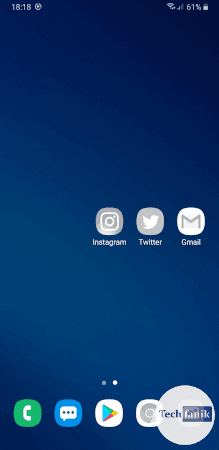 Szare ikony w One UI