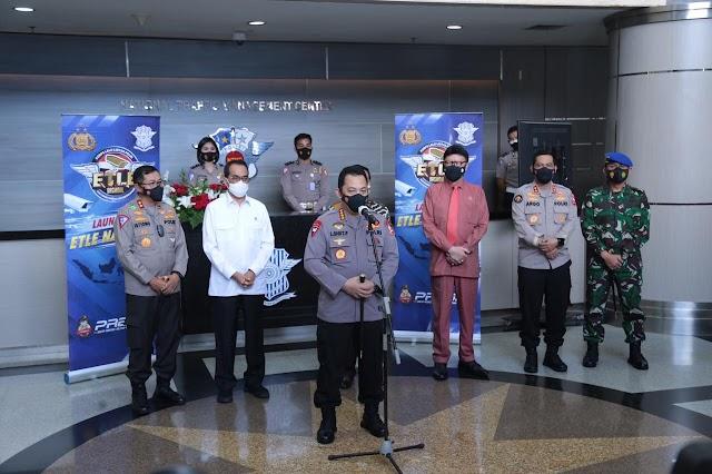 Kapolri Resmi Launching Etle Nasional Tahap Pertama, 12 Polda Terapkan Tilang Elektronik