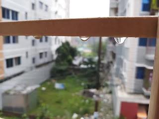 Raindrops balcony pictures