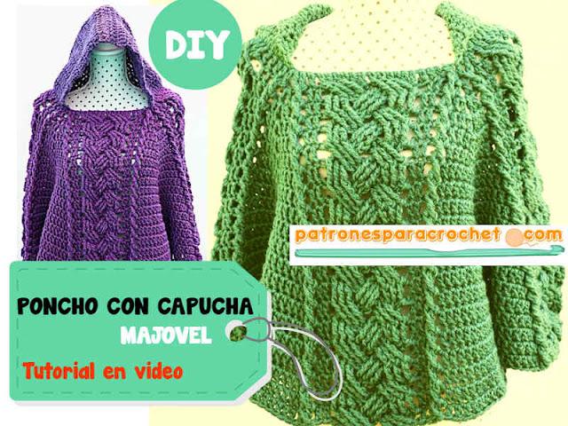 tutorial-de-poncho-crochet-con-capucha