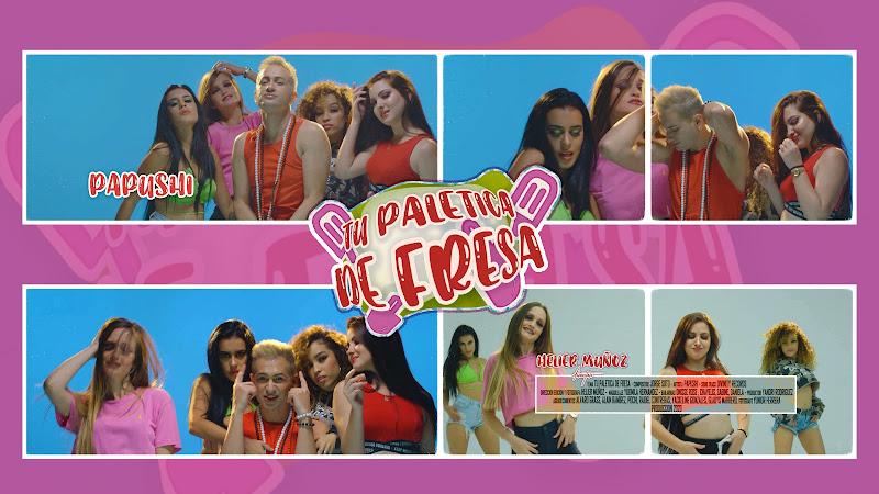 Papushi - ¨Tu paletica de fresa¨ - Videoclip - Director: Helier Muñoz. portal Del Vídeo Clip Cubano. Música cubana. Cuba.