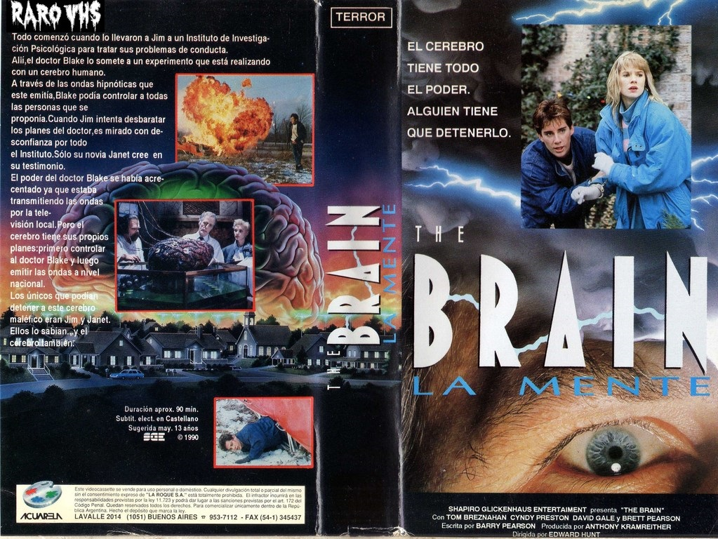 The Brain (1988, USA-Canada) de Ed Hunt