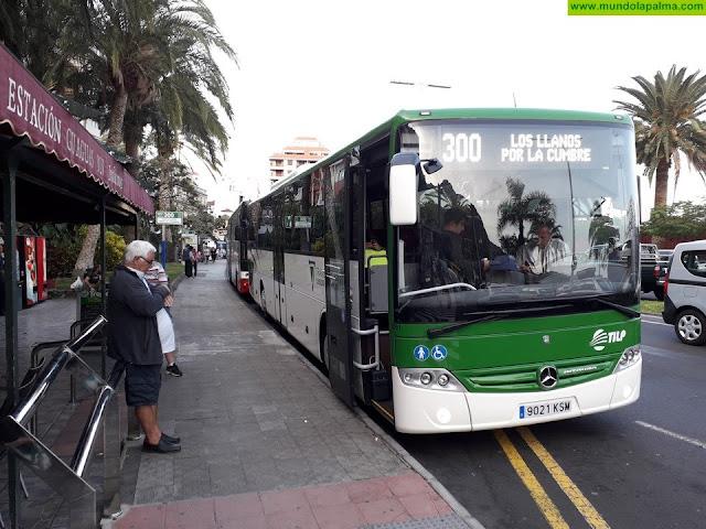 Una nueva 'app' acerca la información sobre el servicio de transporte público en guagua en La Palma a los usuarios