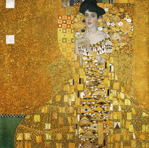 Gustav Klimt Portrait of Adele Bloch-Bauer I 1907 Neue Gallery New York