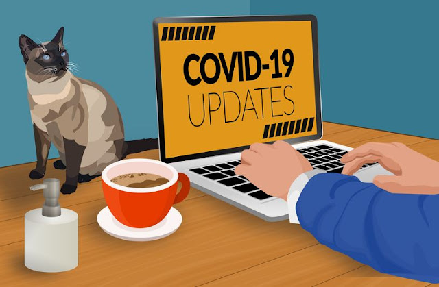 how to quickly establish remote working team covid-19 lockdown coronavirus social distancing office closure