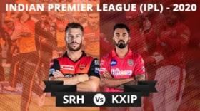 IPL 2020 SRH vs KXIP Dream11 Prediction | who will win