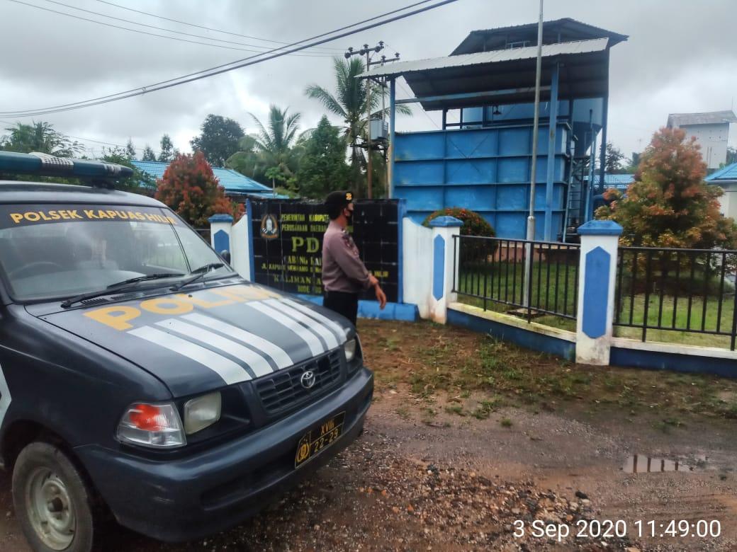 Patroli Dialogis, Petugas Patroli Kapuas Hilir Berikan Himbauan Kamtibmas