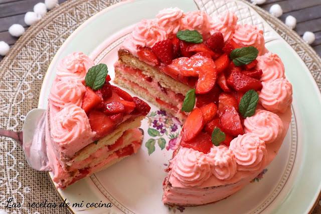Tarta de fresa