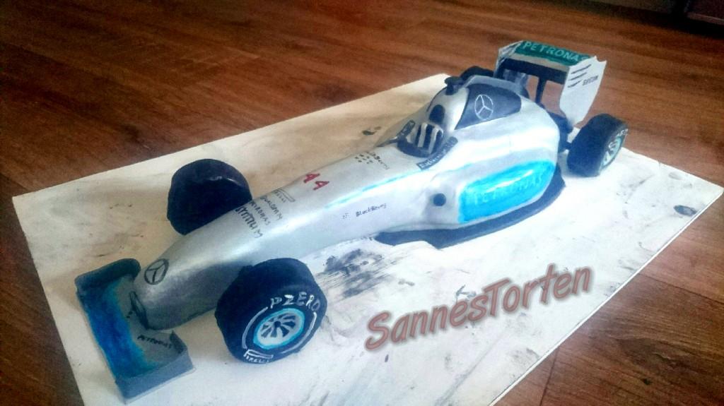 Sannestorten Formel1 Rennwagen