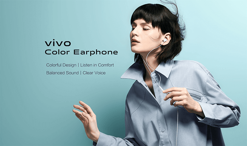vivo Color Earphone arrives in PH, priced at just PHP 549!