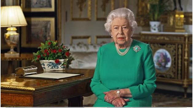 Queen in Easter