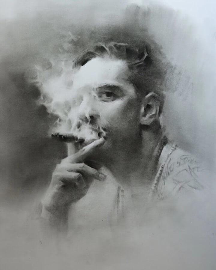 07-A cloud-of-smoke-huihuabiji-www-designstack-co