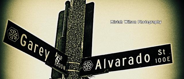 Garey Avenue & Alvarado Street, Pomona, California by Mistah Wilson