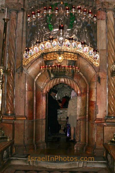 ladder kerk golgotha