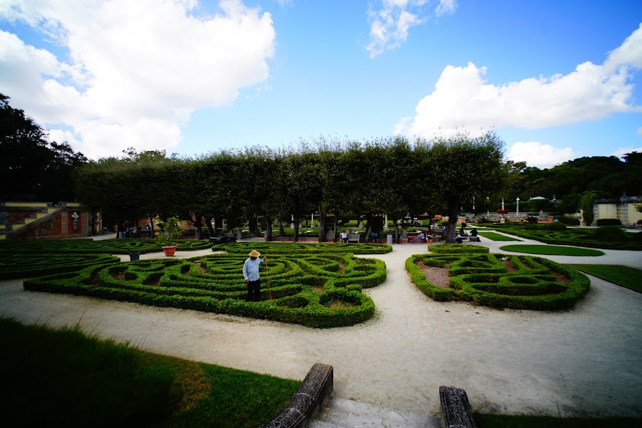 Vizcaya mansion and gardens, Miami
