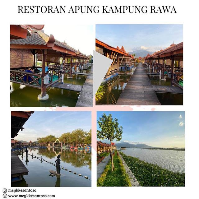 Restoran apung Kampung Rawa Ambarawa
