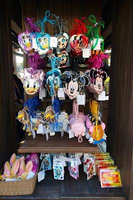 Disney tags at Tokyo Disneysea Japan