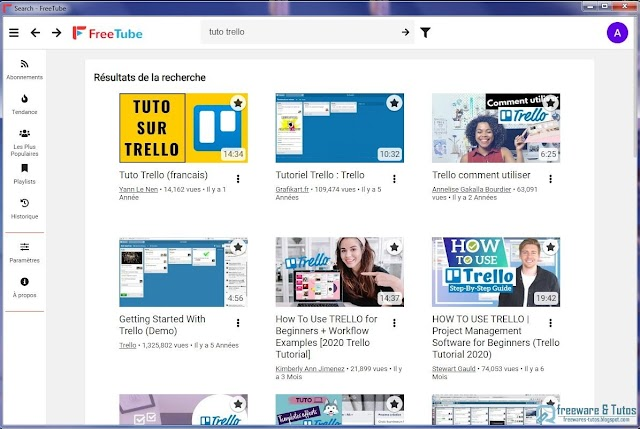 FreeTube : un client YouTube open source sécurisé