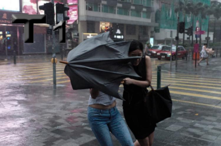 Observatory Hong Kong Keluarkan Sinyal Topan T1, Topan diprediksi Bisa Meningkat ke Level T8 Pada Hari Minggu ini