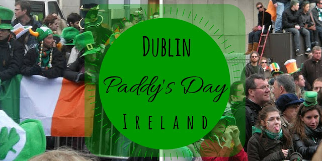 Celebrating St. Patrick's Day in Dublin Ireland