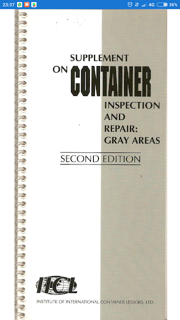 Supplement On Container Inspection And Repair: Gray Areas - .apk Version