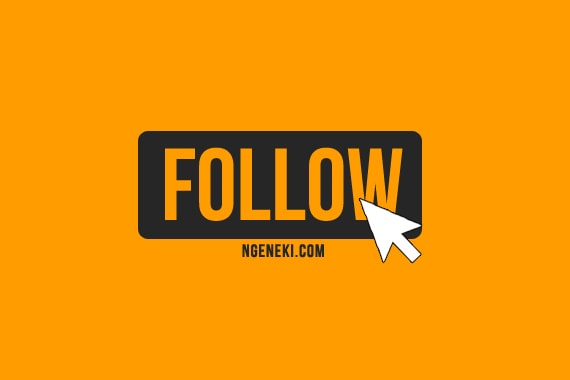 Cara membuat tombol follow