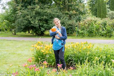 Powsin ogród botaniczny PAN sesja portretowa