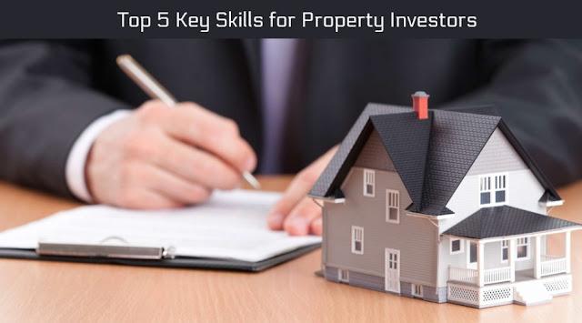 Top 5 Key Skills for Property Investors