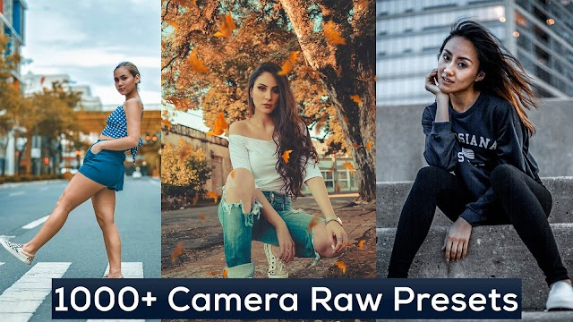 1000+ Photoshop Camera Raw Presets Pack Free Download