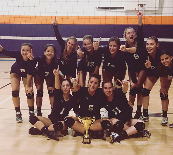 Santa Rosa Volleyball Team Wins Volleyball Tournament Menifee 24 7